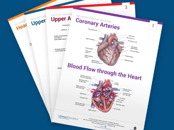 Vascular Roadmap Flash Cards for ICD-10-PCS