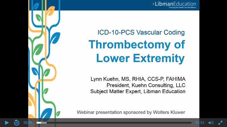 ICD-10-PCS Vascular Coding: Thrombectomy of Lower Extremity