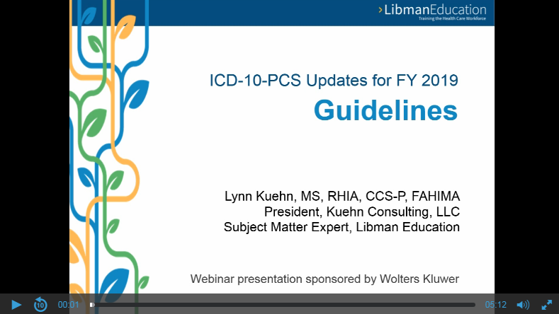 ICD-10-PCS Updates for FY 2019: Guidelines
